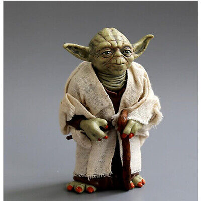 DE Meister Yoda Actionfigur Star Wars Film Movie Figur Sammlung Jedi Master Doll