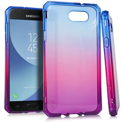 For Samsung Galaxy J7 V/Sky Pro/Prime 2017 - Purple Popsicle TPU Silicone - Purple Popsicle