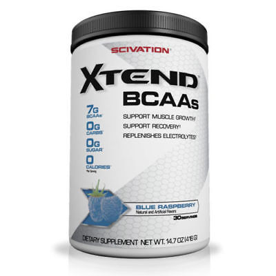 SCIVATION XTEND - 30 SERVINGS - BCAA AMINO ACID POWDER SUPPLEMENT (Fruit Punch)