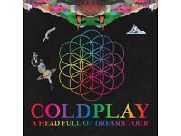 Cold play tickets for sale