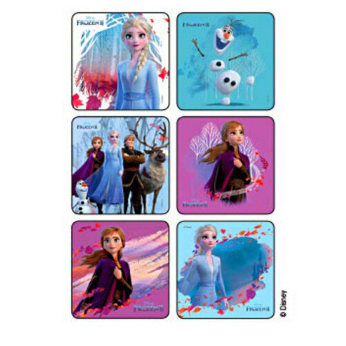 25 Frozen 2 STICKERS Party Favors Birthday Supplies for Trea