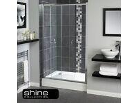 Shower Door Aqualux 1100mm Shine Sliding Door