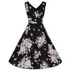 Rockabilly Floral Dresses for Women