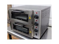 Brand New Double Deck Electric Pizza Oven 16 Inch