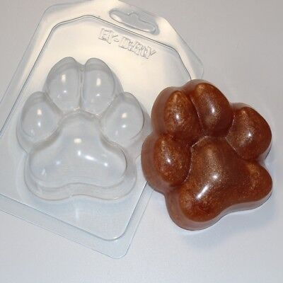 """""""Paw"""" plastic soap mold soap making mold mould dog"""