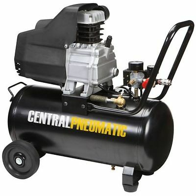 Air Compressor 2 Hp Motor Portable Horizontal Design 8 Gallon 125 Psi Oil Lube