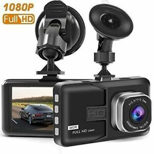 "Dash Cam 3.0"" LCD Car Dvr Camera Recorder with FHD 1080 P, Night"
