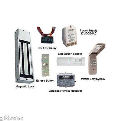 Wireless Door Access Kit Magnetic Lock