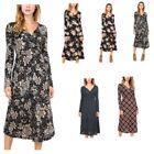 Polyester V-Neck Dresses for Women with Slimming