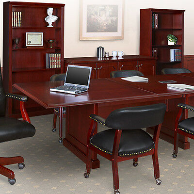 8 - 24 Traditional Conference Room Table Meeting Boardroom 10 12 16 20 Ft Foot