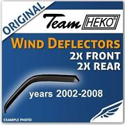 Vectra C Wind Deflectors