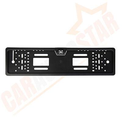 Number Plate Holder Frame & Mini Car Reversing Parking Reverse Camera 170° CMOS