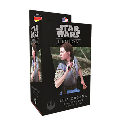 Star Wars Legion Leia Organa Erweiterung (Deutsch/Englisch) Rebellen FFG (Star Wars Rebellen Leia)