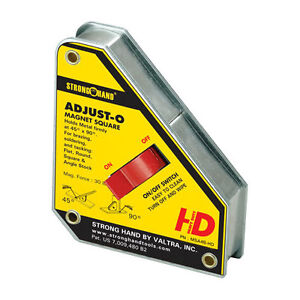 """ADJUST-O"" HEAVY DUTY MAGNETIC WELDING SQUARE"