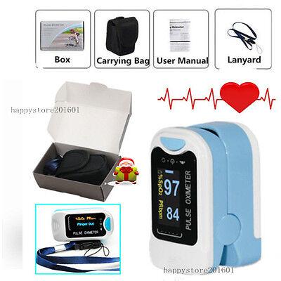 Ce Fingertip Pulse Oximeter Oled Blood Oxygen Spo2 Pulse Heart Rate Monitor