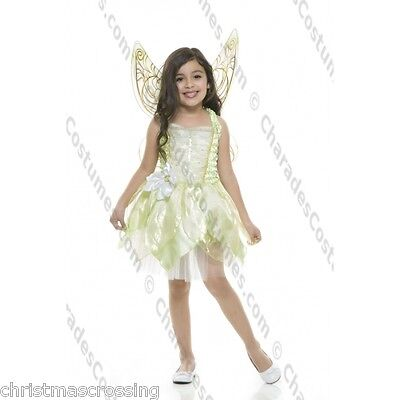 LITTLE GREEN PIXIE FAIRY GIRLS HALLOWEEN COSTUME CHILD SIZE EXTRA SMALL (4-6)](Little Pixie Clothes)