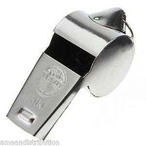 METAL-REFEREES-SPORTS-WHISTLE-KEYRING-SCHOOL-PE-FOOTBALL-RUGBY-PARTY