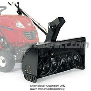 MTD Snowblower attachment for lawn tractor