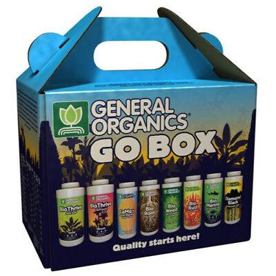 General Organics Go Box Start Kit  Hydroponics Nutrient Vegan Plant Food