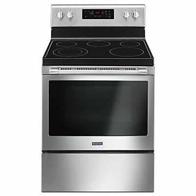 Maytag MER6600FZ 5.3 Cu.Ft. Stainless Freestanding Electric Range