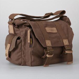DSLR Waterproof Camera Shoulder Messenger Case Bag for Canon Nikon Sony SLR