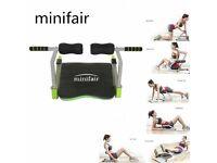 Minifair Home Gym (Green and Black)