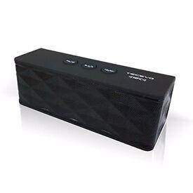 NEW!! TECEVO T4 NFC Bluetooth Wireless Speaker With Enhanced Bass Portable (RRP19.99) Headphones