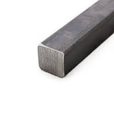 Grade A36 Hot Rolled Steel Square Bar - 1 X 1 X 12