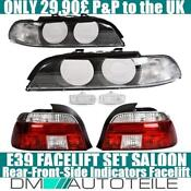 BMW 5 Series E39 Lights
