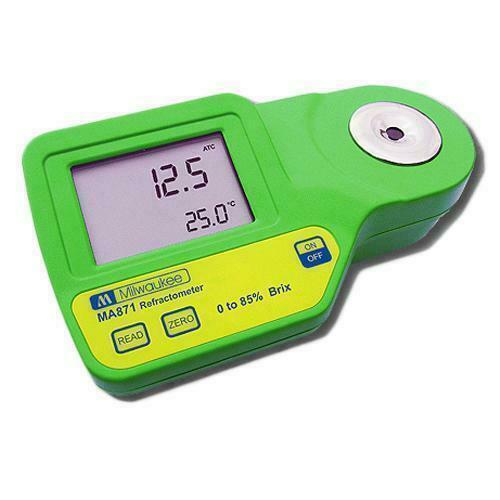Digital Brix (SUGER) Refractometer MA871 - Milwaukee