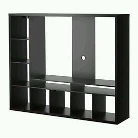IKEA LAPPLAND TV Storage Unit and matching BILLY Bookcase