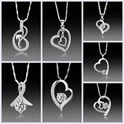 925 Sterling Silver Heart Necklace