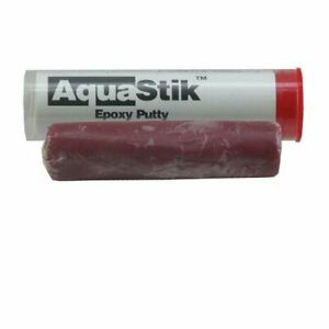 AquaStik Epoxy Putty - Coralline Red - 2 oz