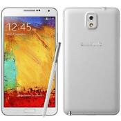 Samsung Galaxy Note White Phone