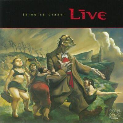 LIVE - Throwing Copper (25th Anniversary Edition) - Vinyl (2xLP)