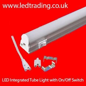 T8 LED Integrated Tube lights 2ft with ON/OFF SWITCH