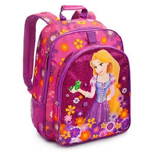 NWT Girl Back To School Disney Rapunzel Princess Backpack