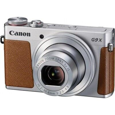 Brand new Canon PowerShot G9 X Digital Point  Shoot Camera, Silver #0924C001