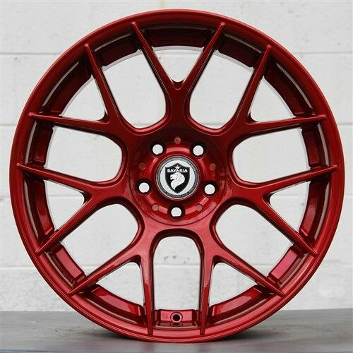 Set(4) BAVARIA BC7 19x8.5/19X9.5 5x114.3 WHEELS LANCER