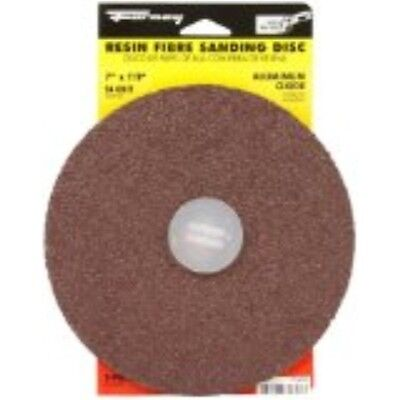 Forney 71653 Sanding Discs Aluminum Oxide With78-inch Arbor 7-inch 24-grit