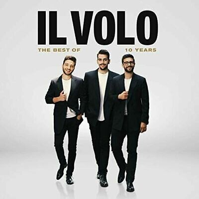NEW- The Best Of IL Volo 10 Years 2 Disc 190759969823 SHIPS