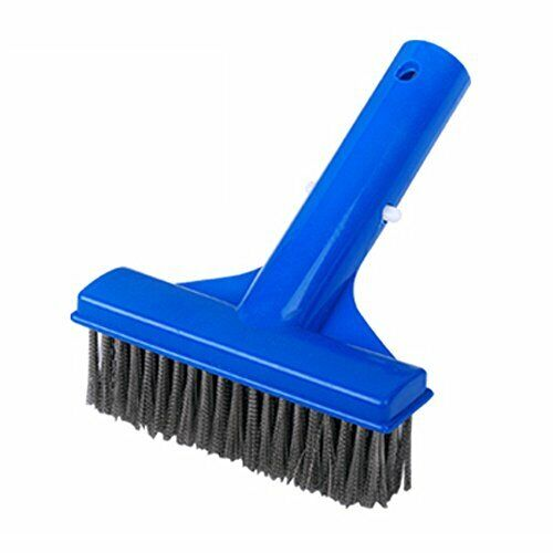 """5"""" Heavy Duty Pool Algae Brush with Stainless Steel Wire Bristle for Concrete"""