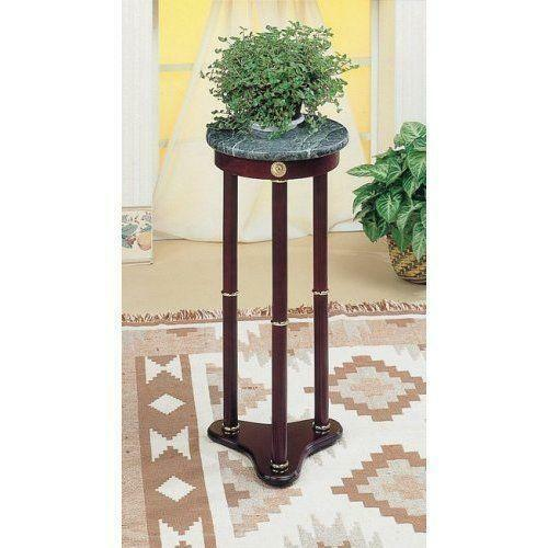 Marble Plant Stand Ebay