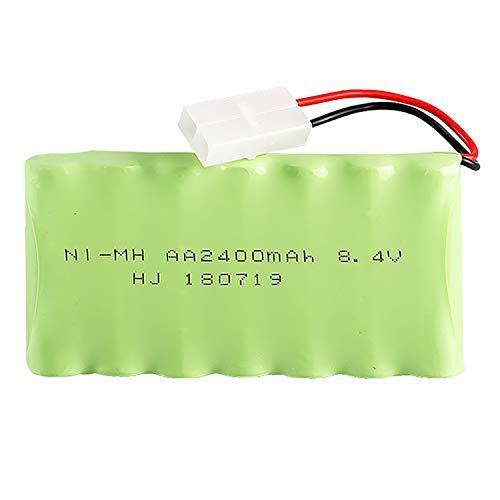 8.4V 2400mAh Rechargeable Ni-MH AA Battery Pack With KET 2P Plug For RC Toys