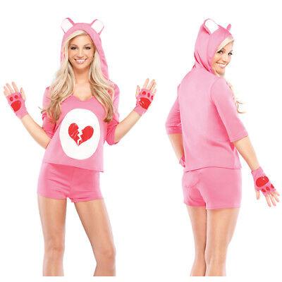 Womens Heartbreaker Teddy Sexy Costume sz M/L 12-14