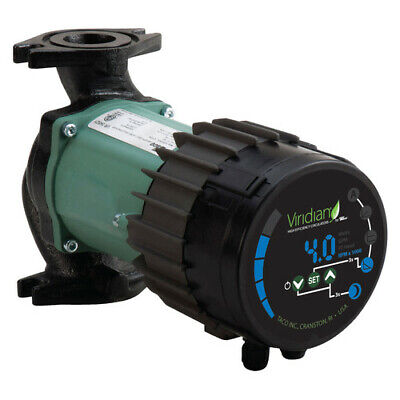 Taco Vr3452-hy1-fc1a00 Viridian Self Adjusting H Efficiency Circulator Pump 115v