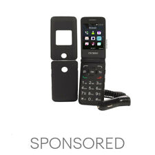Tracfone Alcatel A405 Flip Prepaid Cell Phone + Free Case and Car Charger