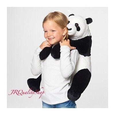 Ikea Djungelskog Jumbo Panda Teddy Bear Stuffed Animal Plush Large XL Big Kramig