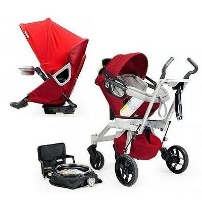 Orbit Baby Stroller Travel System G2 + Stroller Seat in Ruby BRAND NEW! on Rummage