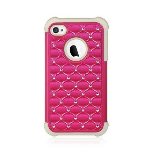pink iphone 4 case pink gem iphone 4 ebay 6665